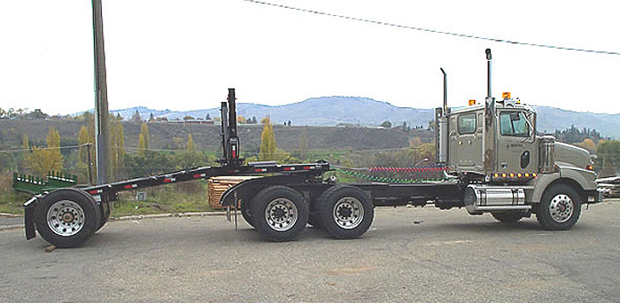 Anser Manufacturing Ltd - Anser Single Axle Log Jeep