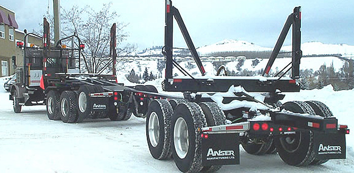 Anser Manufacturing Ltd - Anser Tandem Pole Trailer